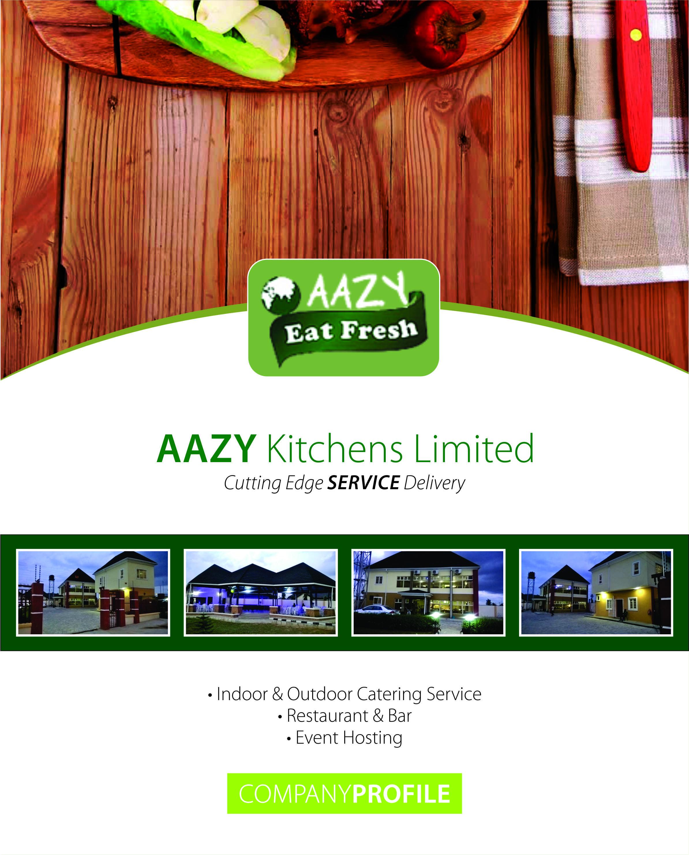 Kitchen Menu Cover Design
