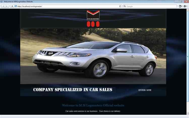 Car Sale Website