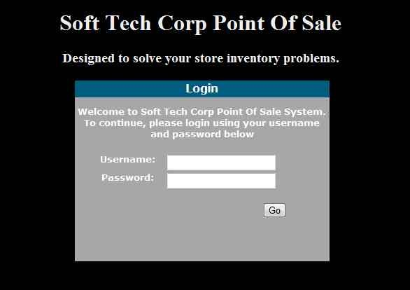 Web Based Point of Sale