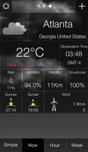 Weather Information Application