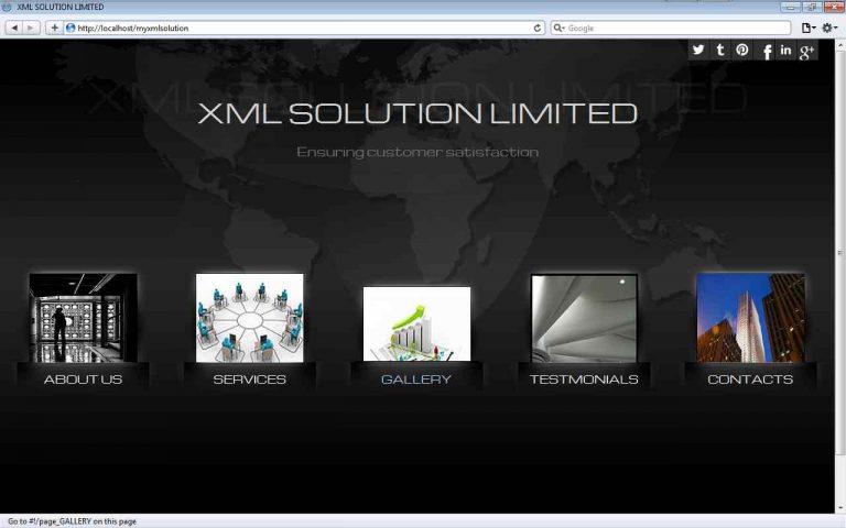 Oil Servicing Company Website